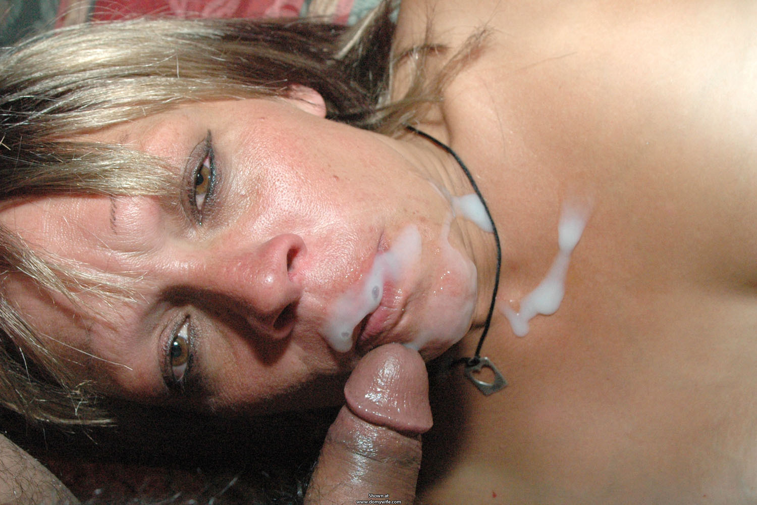 blowjob Homemade facial cumshot